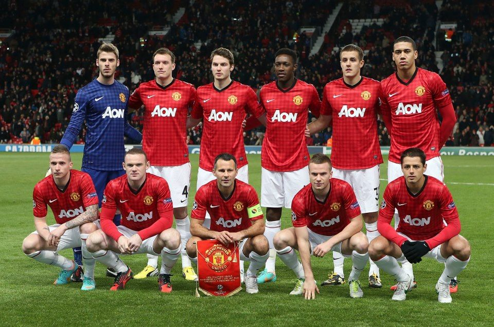 Manchester+United+2012-2013+squad+wallpaper