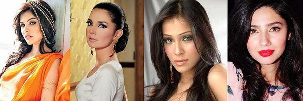 The Most Beautiful Women of Pakistan