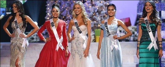 Miss Universe Winners from 2003 to 2012