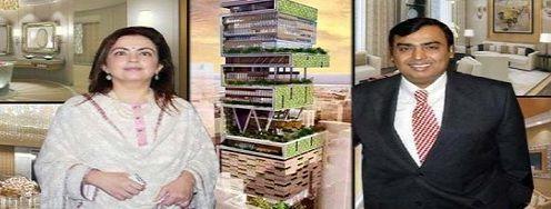 The Billion Dollar Home of Mukesh Ambani