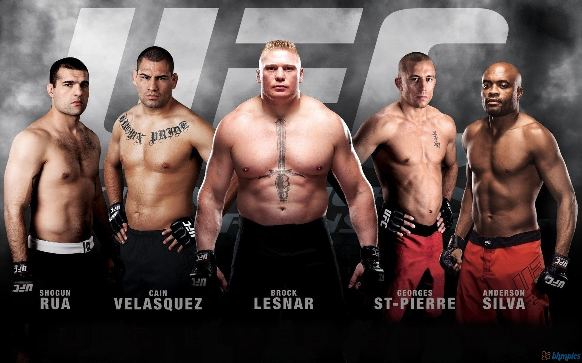 Ufc Fighters List