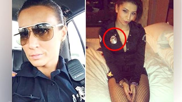 Inappropriate Police Officer Selfies Posted Online