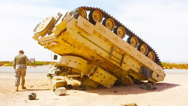 Big Military Vehicle Fails
